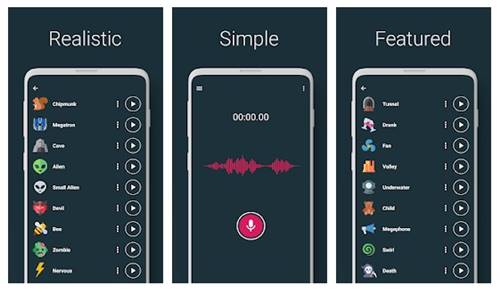 Voice Changer - Audio Effects
