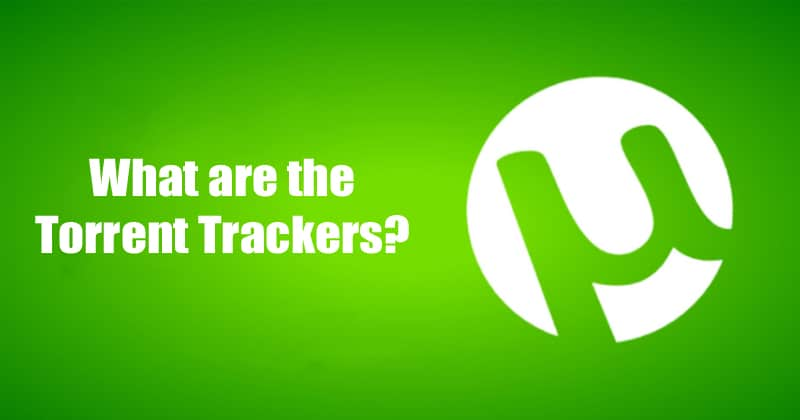 What are the torrent trackers?