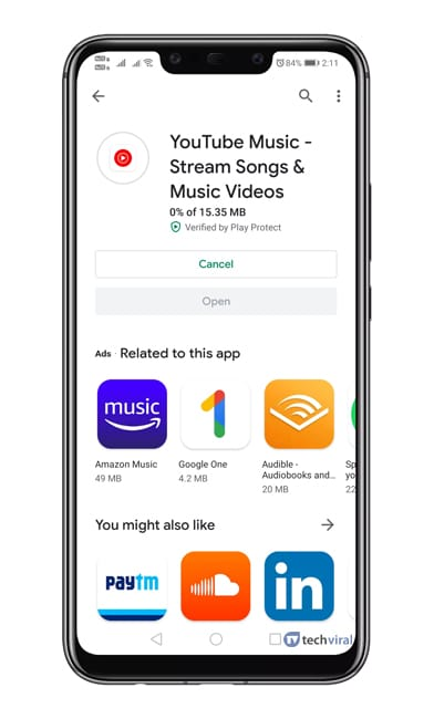 Update the YouTube Music App
