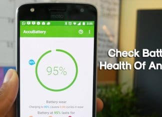 How To Check Battery Health Of Android Device 2020