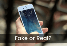 Check Your iPhone Is Fake or Real