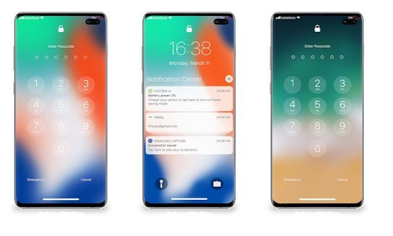 Lock Screen & Notifications iOS 13