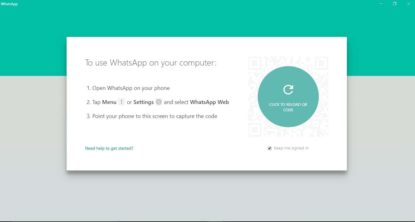 WhatsApp's Interface