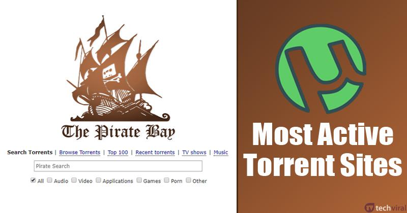 10 Most Popular & Active Torrent Sites Of 2020 (100% Working)