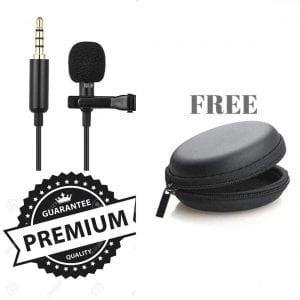 Adofo Lapel lavalier clip microphone