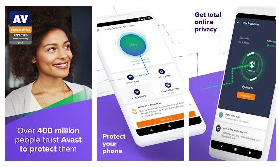 أفاست مكافحة الفيروسات - أفضل 10 تطبيقات مجانية للكشف عن برامج التجسس للاندرويد