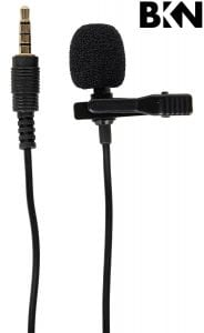 BKN® Mini Lapel Lavalier Directional 3.5mm Microphone