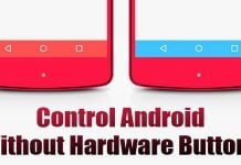 How to Control an Android Device without any Hardware Buttons