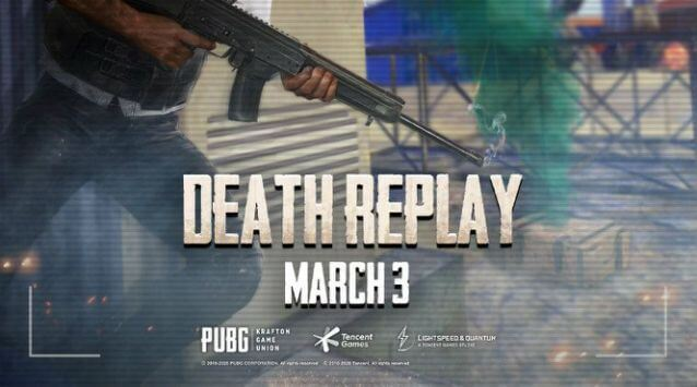 Enable Death Replay Feature on PUBG Mobile