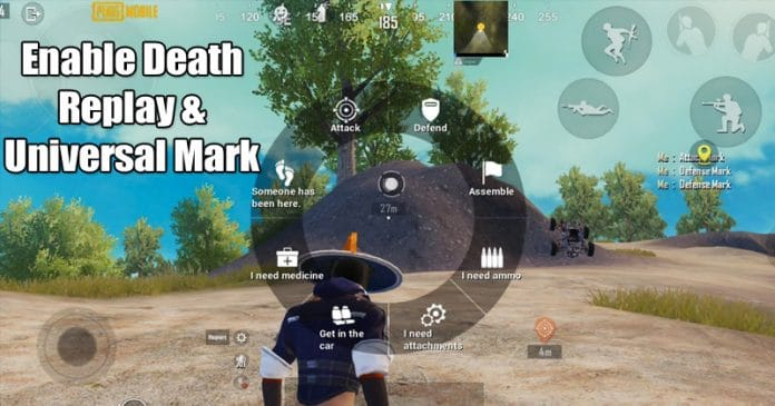 How To Enable Death Replay & Universal Mark On PUBG Mobile