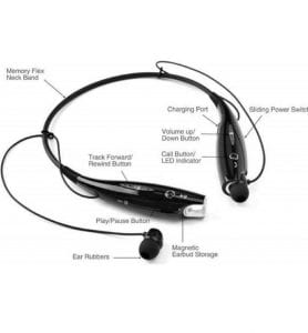 Generic HBS-730 Wireless Bluetooth Stereo Headset