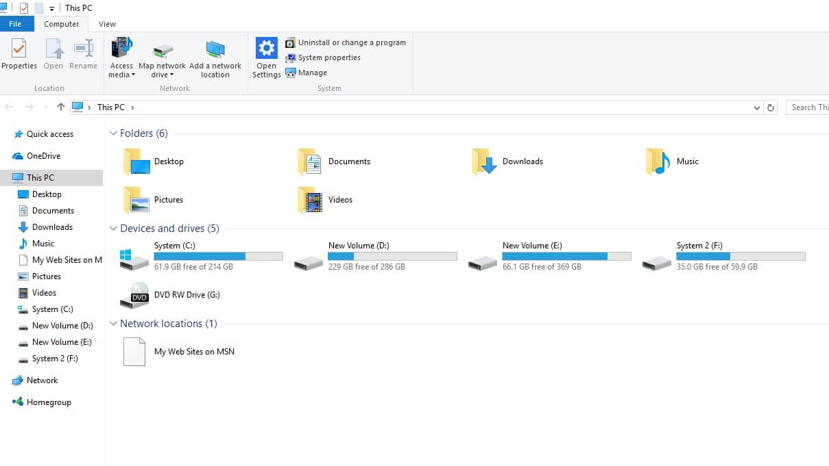 Open File Explorer