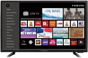 Kevin 80 cm (32 Inches) HD Ready Smart LED TV