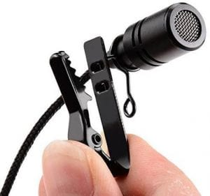 LXCN® Pro Lavalier Lapel Coller Microphone Kit