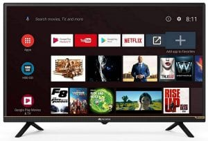 Micromax 81 cm (32 inches) HD Ready LED Smart Certified Android TV