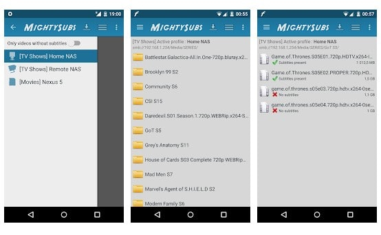 MightySubs - Aplikasi Video Subtitle