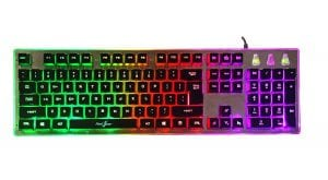 Redgear Grim Semi Mechanical RGB Backlit Keyboard