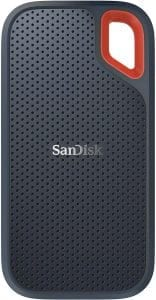 SanDisk 500GB SSD USB-C, USB 3.1, for PC & Mac & IP55 Rated