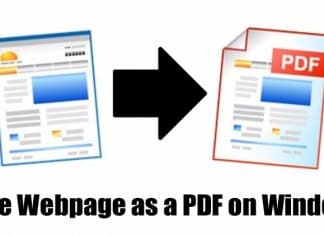 How To Save a Webpage as a PDF on Windows 10
