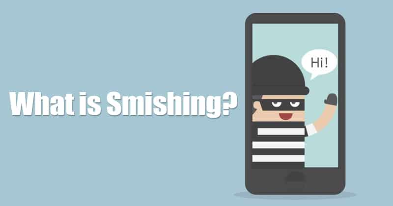 What is Smishing?