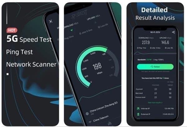 Speed test master