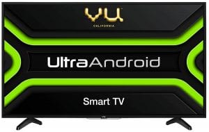 Vu 80 cm (32 inches) HD Ready UltraAndroid LED TV