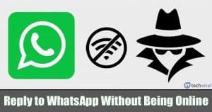 How to Reply to WhatsApp Message Without Appearing Online