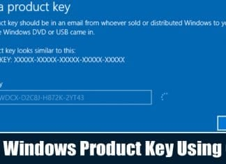 How To Find Windows 10 Product Key Using Command Prompt