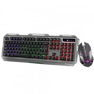 ZEBRONICS Gaming Multimedia USB Keyboard & USB Mouse