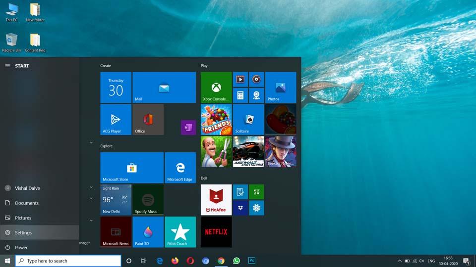 Correggi le icone del desktop mancanti o scomparse (2)