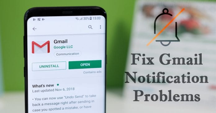 Here's how to fix Android Not Receiving Gmail Notifications Problem