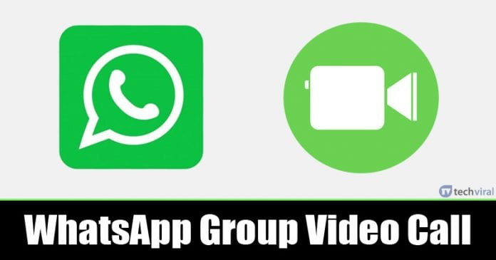 How To Enable WhatsApp's Group Video calling (8 Participants)