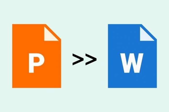 How To Convert PowerPoint To Word? (PPT to Word)