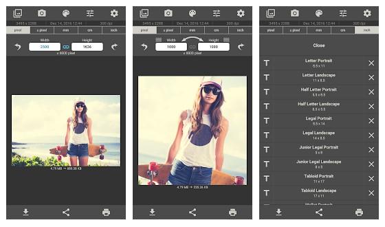 Image Size - Photo Resizer