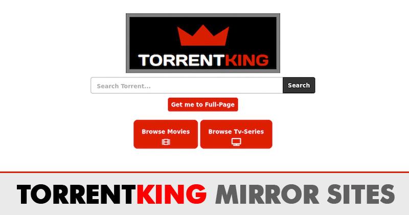 TorrentKing Proxy Sites 2020