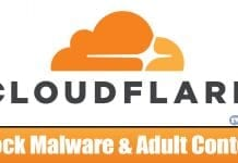 How To Use Cloudflare DNS to Block Malware & Adult Content