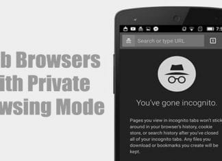 5 Best Android Web Browser With Private Browsing Mode