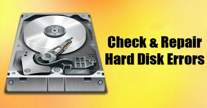 5 Best Tools To Check & Repair Hard Disk Errors in 2020