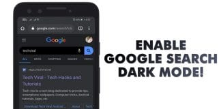 Here's How To Enable Google Search Dark Mode on Android