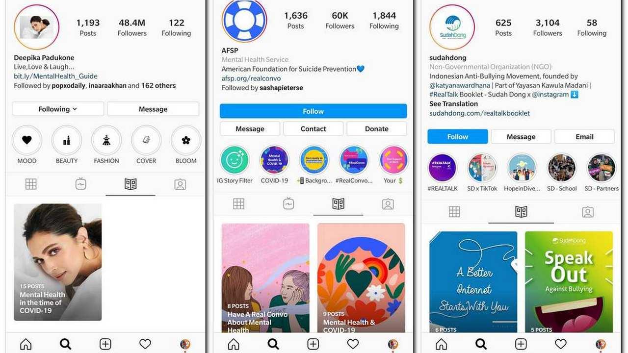 "Instagram Update: New ""Guides"" Tab Gives Wellness Tips For Coronavirus"