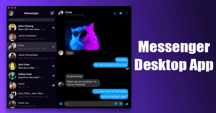 How to Download & Install New Facebook Messenger Desktop App