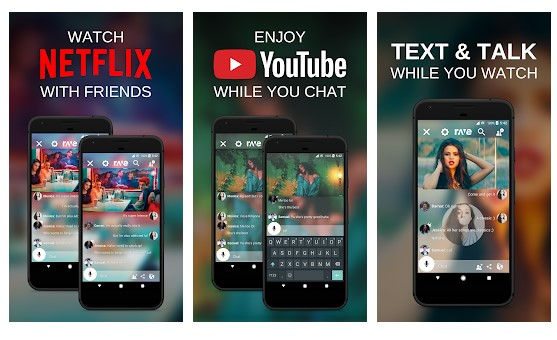 Rave Rave – Videos with Friends– Videos with Friends