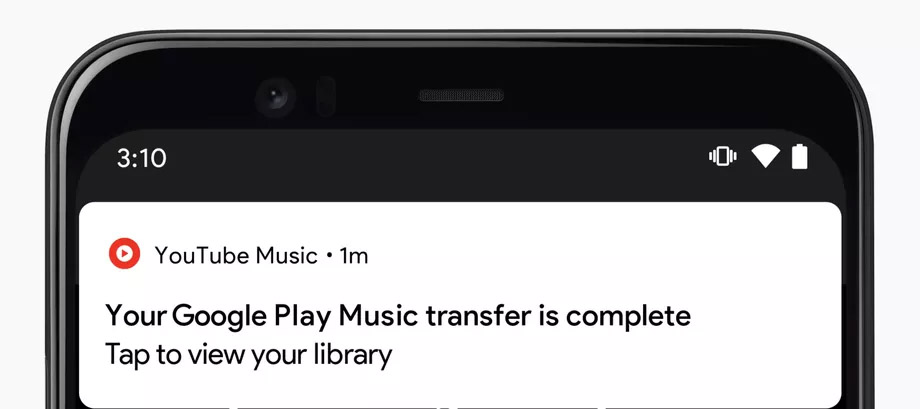 Transfer music libraries