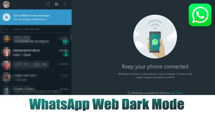 How To Enable Dark Mode on WhatsApp Web Without any Third-Party App