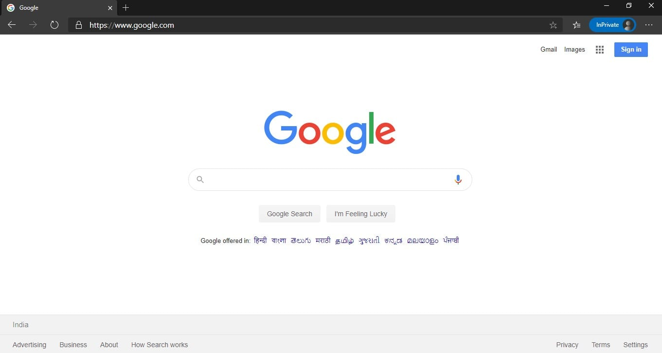 launch the Microsoft Edge browser