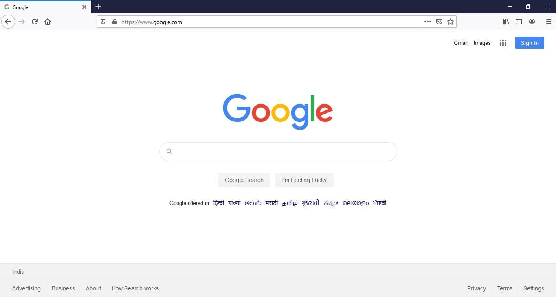 open Mozilla Firefox