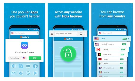 Hola Free VPN Proxy Unblocker