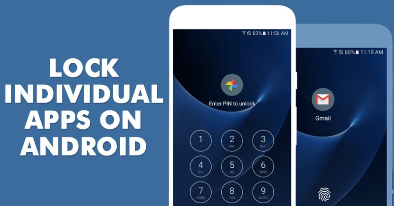 Lock Individual Apps