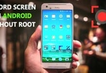 Record Screen On Android Without Root