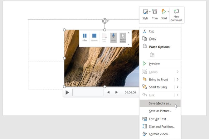 Record Screen Using PowerPoint